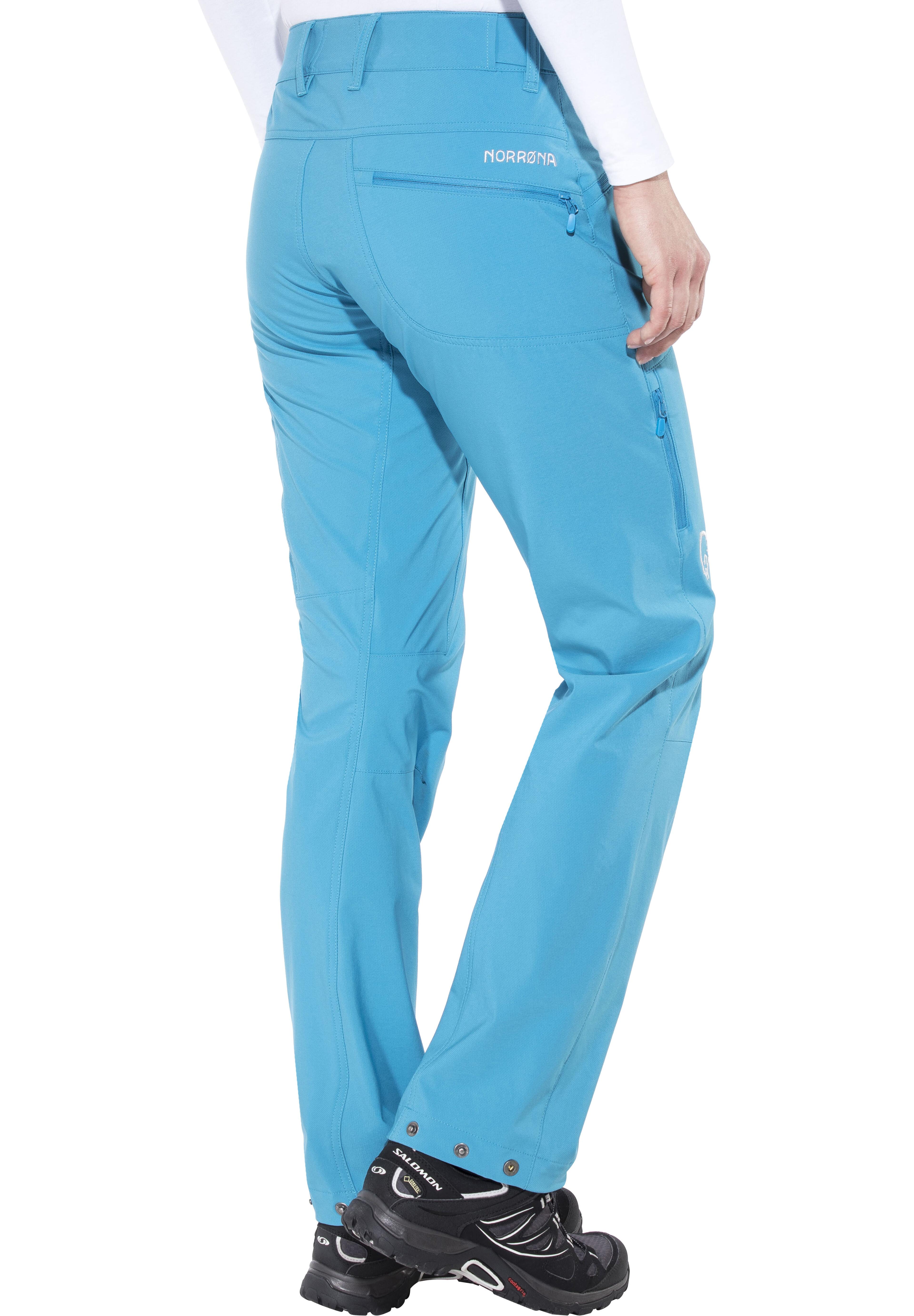 7e0f98398b0d76 Norrøna Falketind Flex1 Pants Women blue moon at Addnature.co.uk